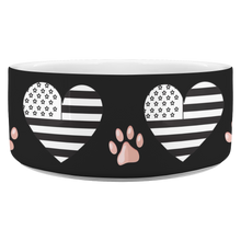 Load image into Gallery viewer, Dog bowl American Heart