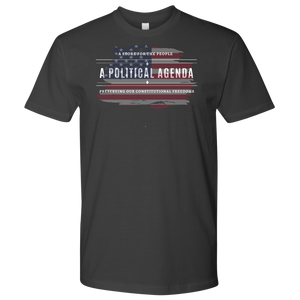 A Political Agenda Men's t-shirt/Women's t-shirt