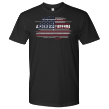 Load image into Gallery viewer, A Political Agenda Men's t-shirt/Women's t-shirt
