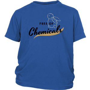 Free of Chemicals boy's sweatshirt and tshirt/girls sweatshirt and tshirt
