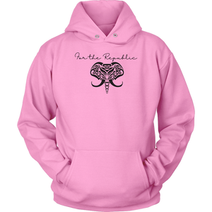 For the Republic elephant sweatshirt, Men's sweatshirt, women's sweat shirt, unisex sweatshirt