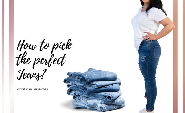 Find The Perfect Jeans For Your Body Shape
