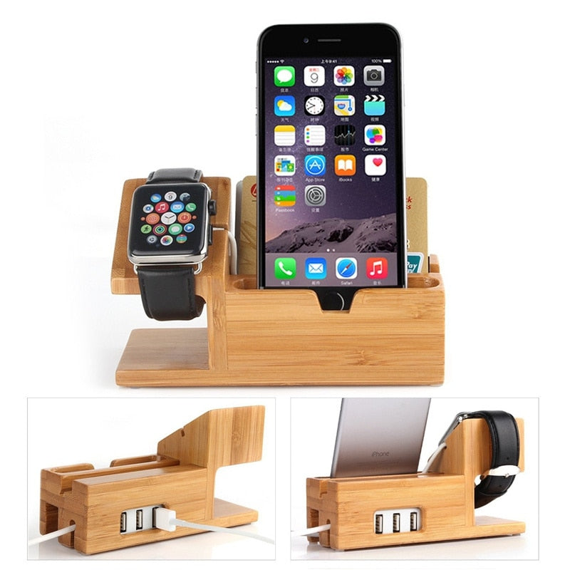 Universal Wood Charging Station
