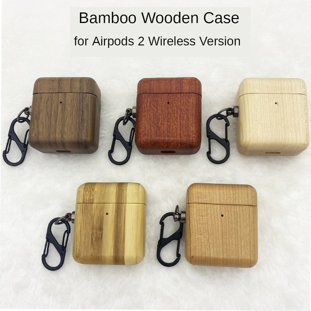 Bamboo Case for Airpods