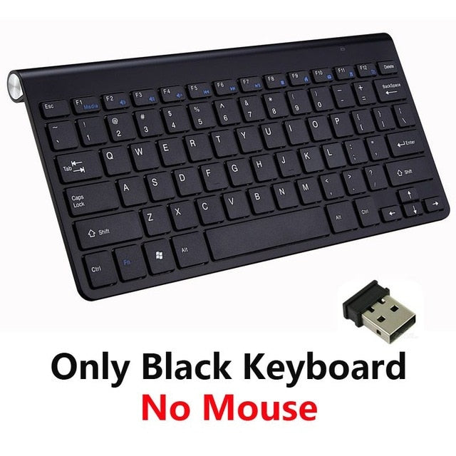 2.4G Wireless Keyboard and Mouse