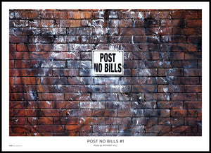 Post No Bills #1