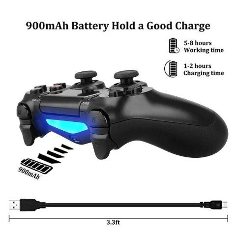 PS4 Controller Bluetooth Vibration Gamepad Game controller For PC/Android/IOS