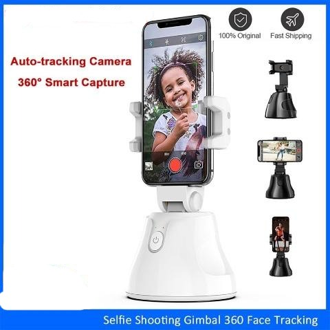 Face tracking Selfie Stick Tripod 360 Rotation Cell Phone Holder Gimbal