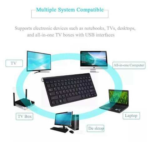 Wireless Keyboard And Mouse Combo USB Wireless Optical Keyboard & Mouse Set