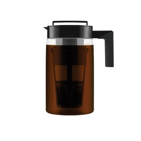 900ML Cold Brew Coffee Maker With Airtight Seal Silicone Handle