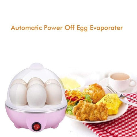 Electric Egg Cooker, Hard-Boiled Boiler Cooker with Auto Shut-Off