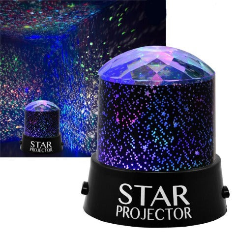 Star projector - LED Lamp Colorful Rotate Flashing Star Projector