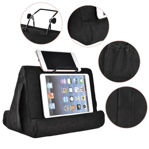 iPad Stand - Soft Pillow Tablet Holder Multi-angle Phone Stand