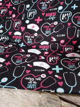 Load image into Gallery viewer, RN Nurses life Flannel cotton