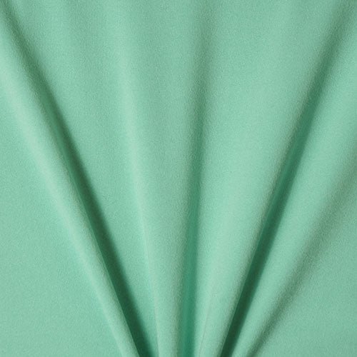Mint Solid Cotton spandex fabric