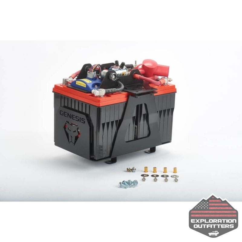 Genesis Offroad 2007+ Tundra Dual Battery Kit - ExplorationOutfitters.com