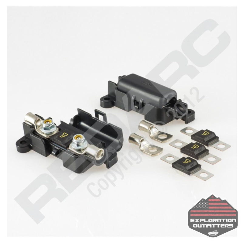 RedARC 40 Amp In-Line Fuse Kit - ExplorationOutfitters.com