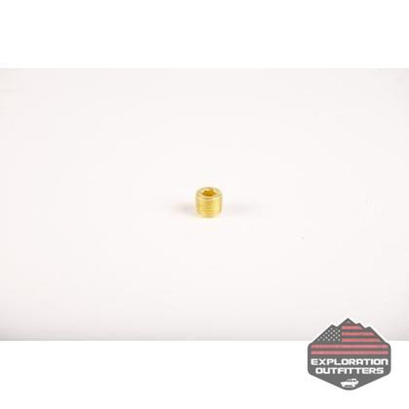 "ExtremeAire 1/4"" Allen Brass Plug - ExplorationOutfitters.com"