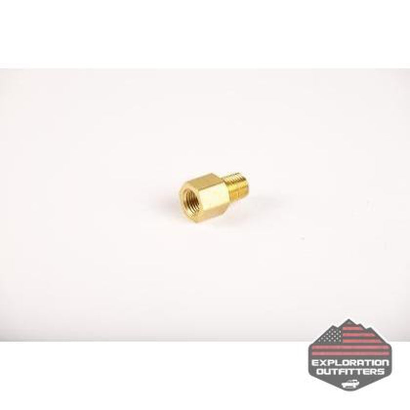 "ExtremeAire 1/4"" Male To Female Brass Hose Fitting - ExplorationOutfitters.com"