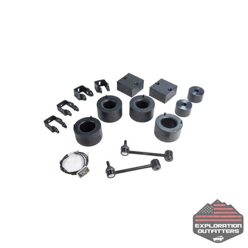 "AEV Jeep JL 2"" Spacer Lift - ExplorationOutfitters.com"