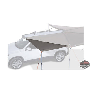 Rhino Rack Batwing Awning Front Edge Zippered Insert - ExplorationOutfitters.com