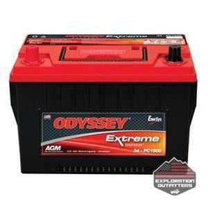 Odyssey Group 34 Extreme Series Battery - ExplorationOutfitters.com