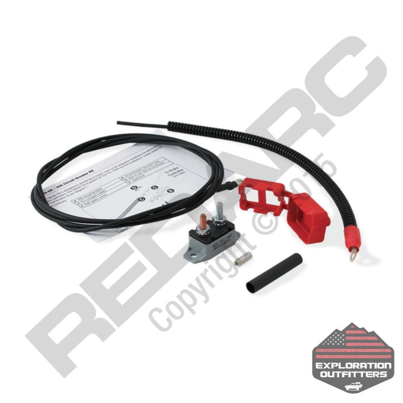 RedARC 30 Amp Circuit Breaker Kit - ExplorationOutfitters.com