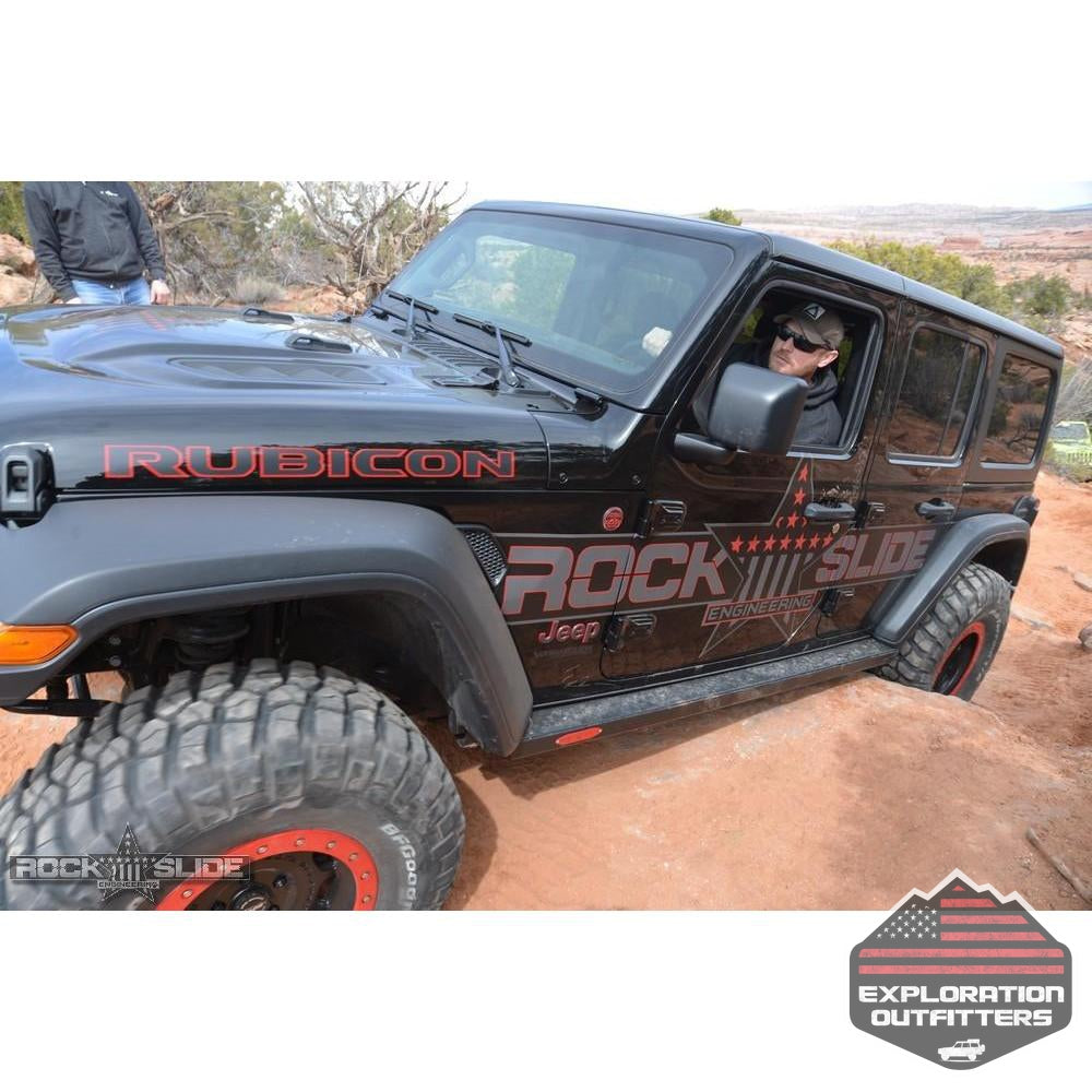Step-Slider-Skid-Plate-Kit-for-18-Pres-Jeep-JL-4-Door--by-Rock-Slide-Engineering