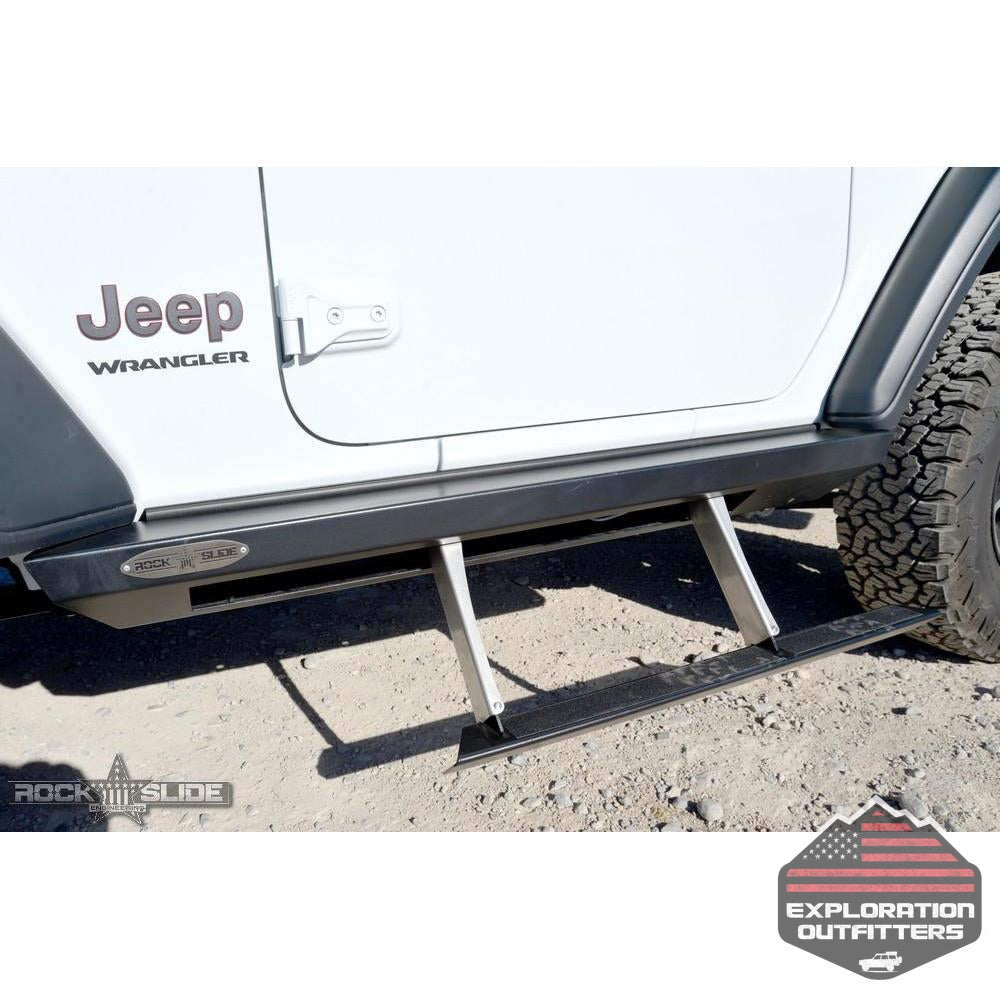 Jeep-JL-Side-Step-Sliders-For-18-Pres-Wrangler-JL-2-Door-Models-Set--by-Rock-Slide-Engineering
