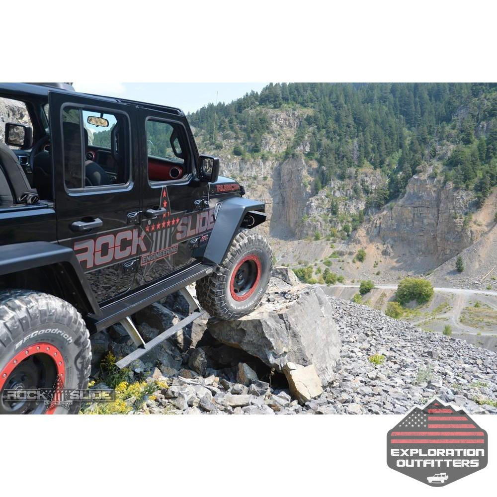 Jeep-JL-Side-Step-Sliders-For-18-Pres-Wrangler-JL-4-Door-Models-Set--by-Rock-Slide-Engineering