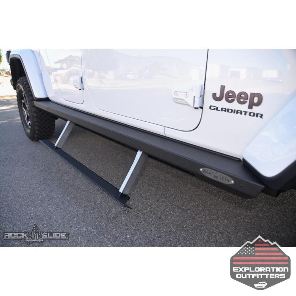 JT-Gladiator-Side-Step-Sliders-For-20-Pres-Jeep-Gladiator-Set--by-Rock-Slide-Engineering