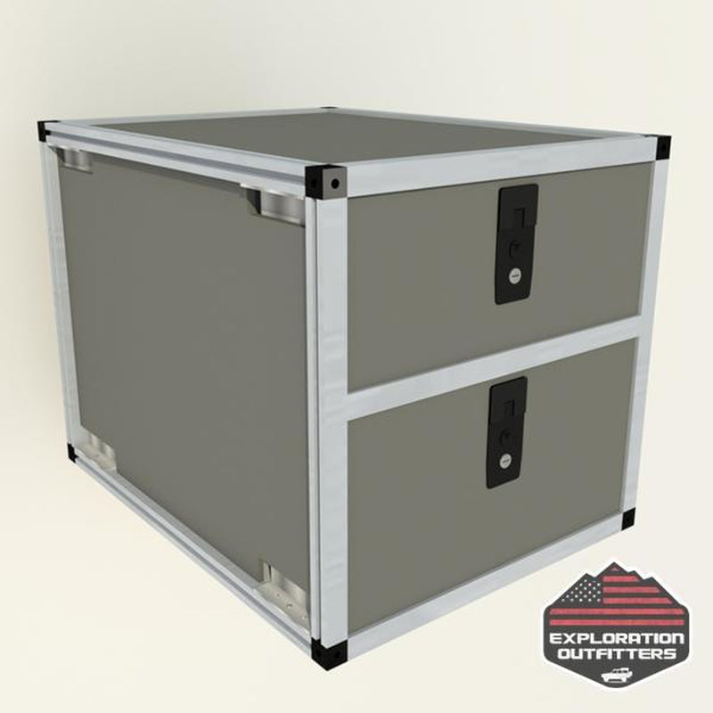 "Goose Gear 20"" Double Drawer Module - ExplorationOutfitters.com"