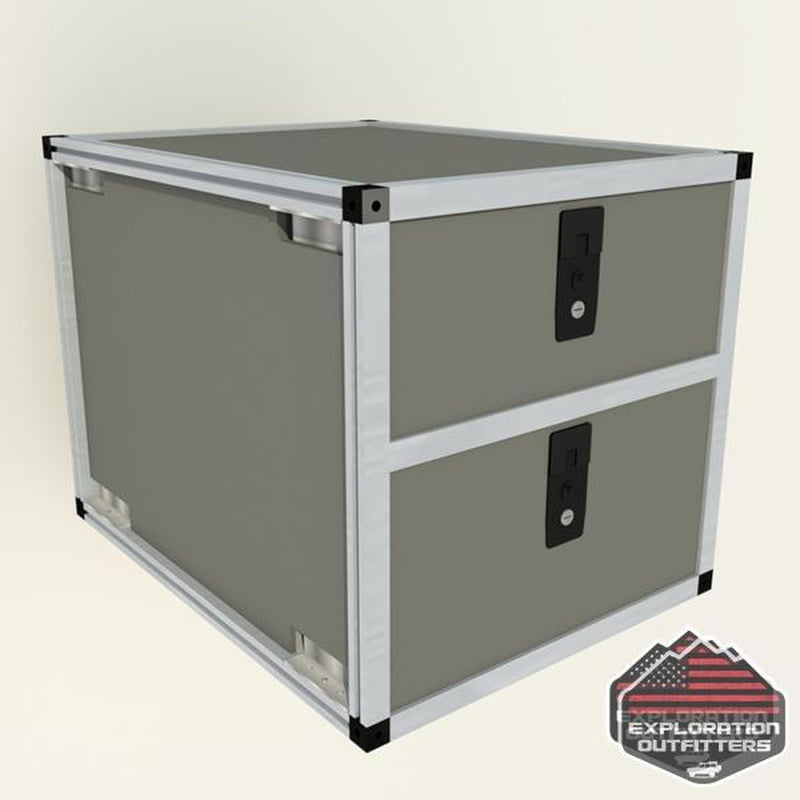 "Goose Gear 24"" Double Drawer Module - ExplorationOutfitters.com"
