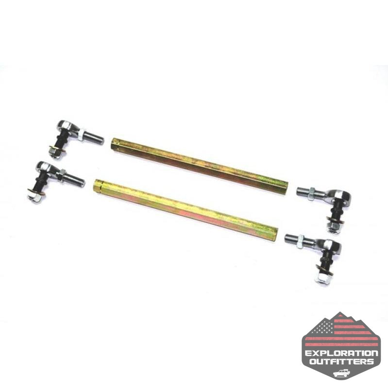 Jeep JK HD Sway Bar Links 5.5 -6.9 Inch 07-18 Wrangler JK EVO Manufacturing - Explorationoutfitters.com