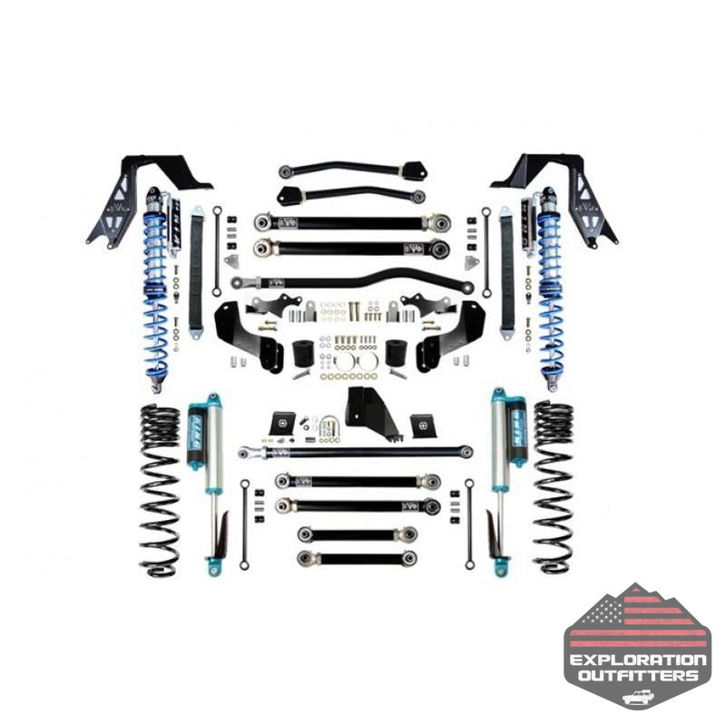 Jeep Gladiator 6.5 Inch Fusion Plus Suspension Kit EVO Manufacturing - Explorationoutfitters.com