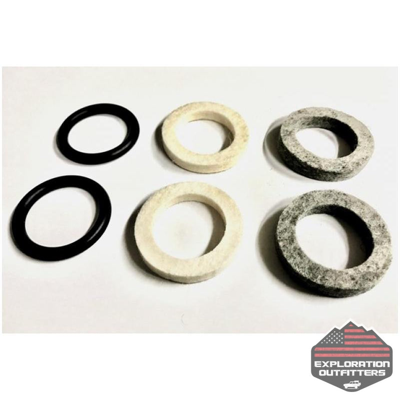 Jeep JK/TJ Axle Sleeves Seal Replacement Kit 44 Magnum EVO Manufacturing - Explorationoutfitters.com