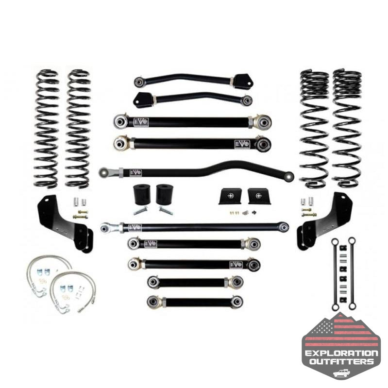 Jeep Gladiator JT 4.5 Inch Lift Kit 2020-Pres Gladiator Enforcer Overland Lift Stage 4 Plus EVO Mfg - Explorationoutfitters.com