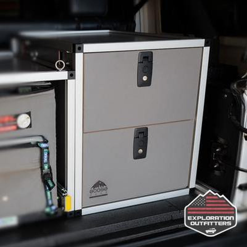 "Goose Gear 19"" Double Drawer Module - ExplorationOutfitters.com"