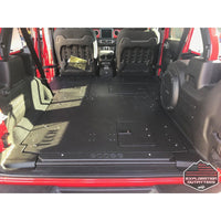 Jeep JLU Stealth Sleep Package - ExplorationOutfitters.com