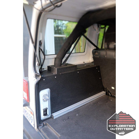 Goose Gear - Jeep JKU Side Cubbies For 2007-2018 4 Door Jeeps