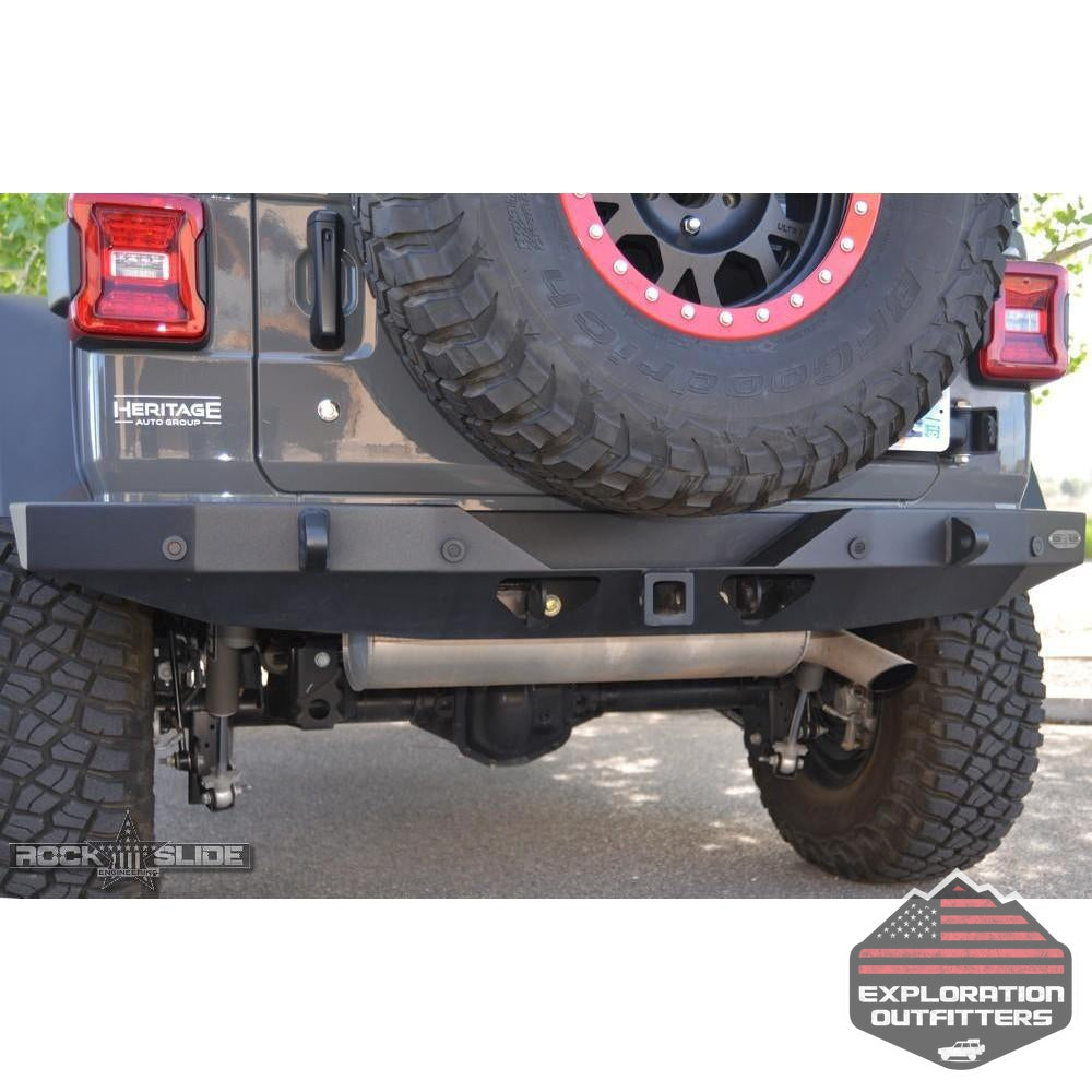 Jeep-JL-Full-Rear-Bumper-For-18-Pres-Wrangler-JL-No-Tire-Carrier-Rigid-Series--by-Rock-Slide-Engineering
