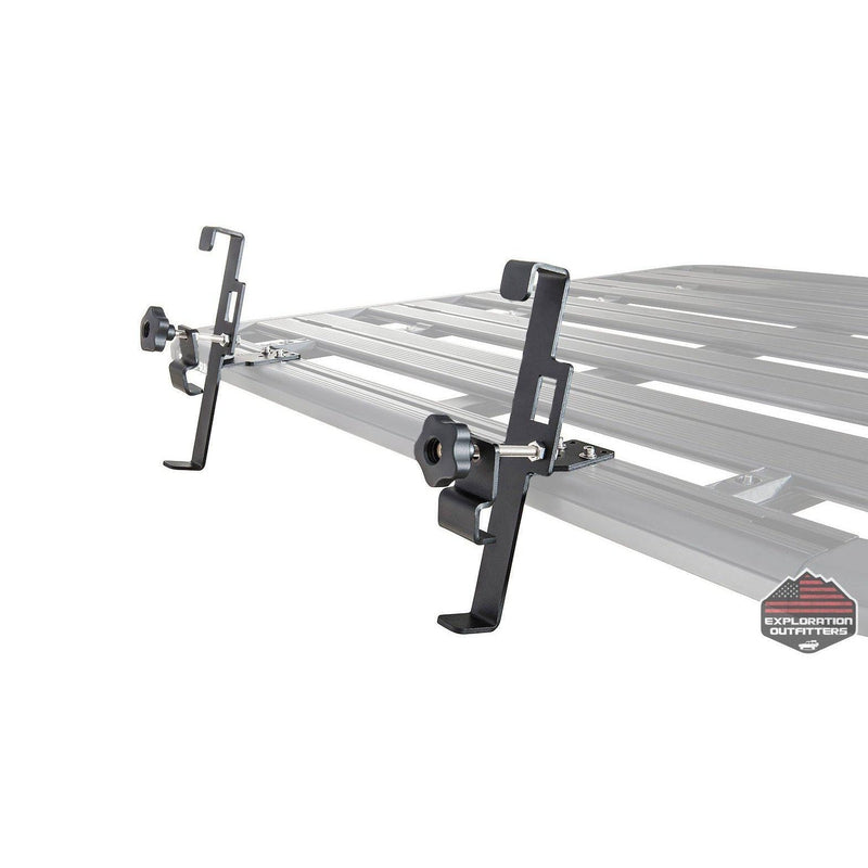 Rhino Rack Aluminum Folding Ladder Mounting Brackets - ExplorationOutfitters.com