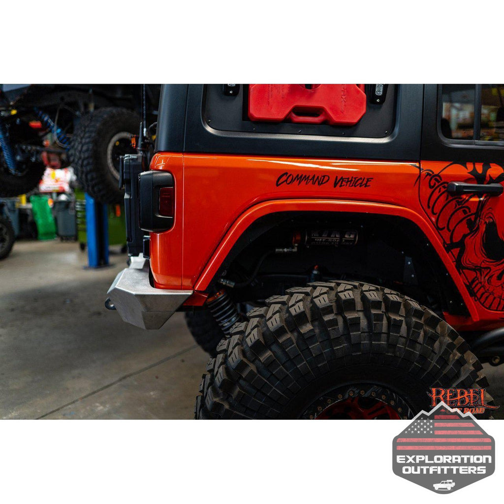 Summit Series Rear Bumper JL - by Rebel Off Road-Rebel Off Road-Explorationoutfitters.com