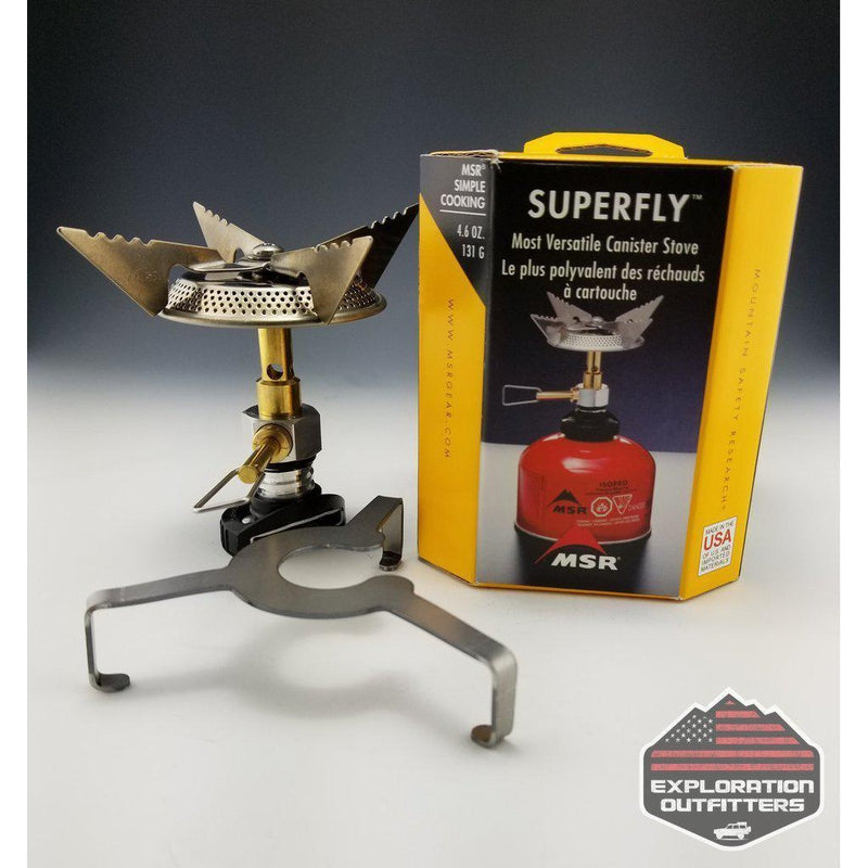 Tembo Tusk MSR-Gear SuperFly Stove W/ Adapter - ExplorationOutfitters.com