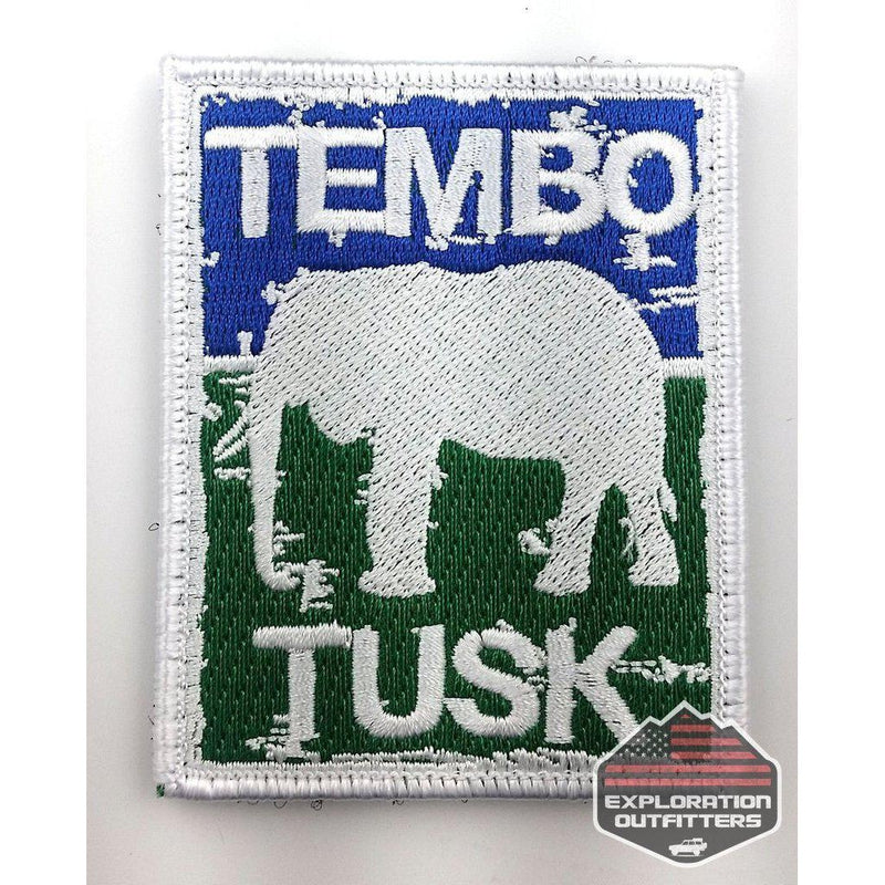 Tembo Tusk Velcro Patch - ExplorationOutfitters.com