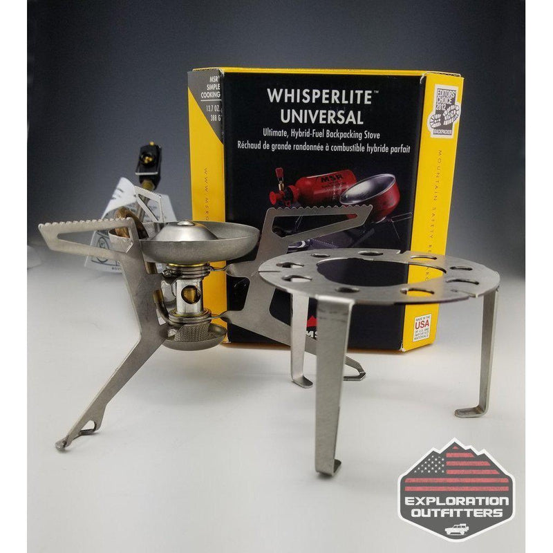 MSR-Gear WhisperLite Universal Stove - ExplorationOutfitters.com