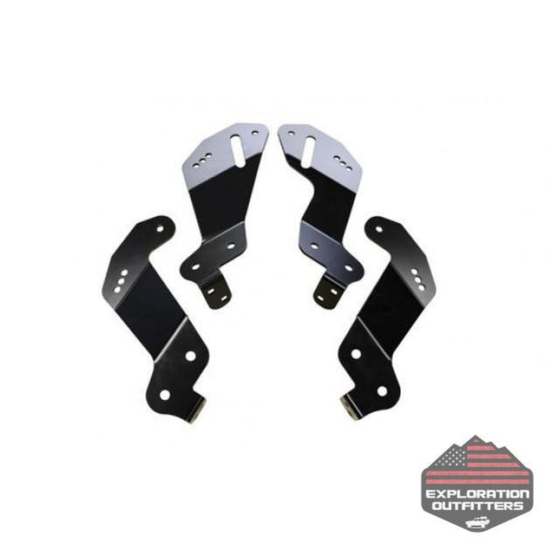 AEV Geometry Correction Brackets - '07-'18 Jeep Wrangler - ExplorationOutfitters.com