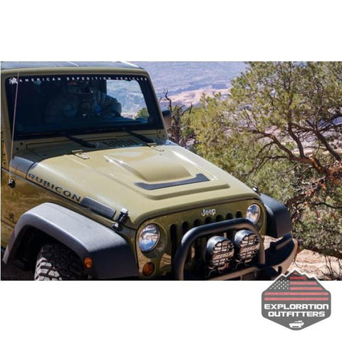 AEV Heat Reduction Hood - 2007-2017 Jeep Wrangler