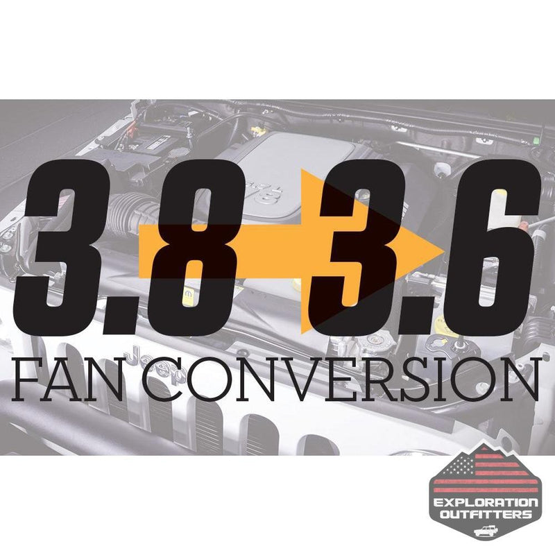 AEV Fan Conversion Kit - 3.8L to 3.6L - ExplorationOutfitters.com