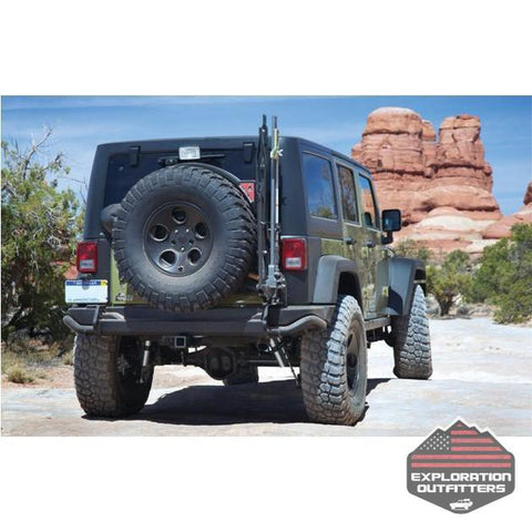 AEV JK Hi-Lift/Pull-Pal Mount - 2007-2017 Jeep Wrangler